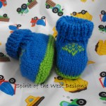 Emeralds Baby Booties