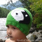 Yin Yang Cabled Hat