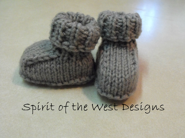 Quick and Easy Baby Booties
