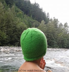 Knitting Pattern, Yin Yang Cabled Hat, Knit Hat, Childs Hat, Beanie Cables